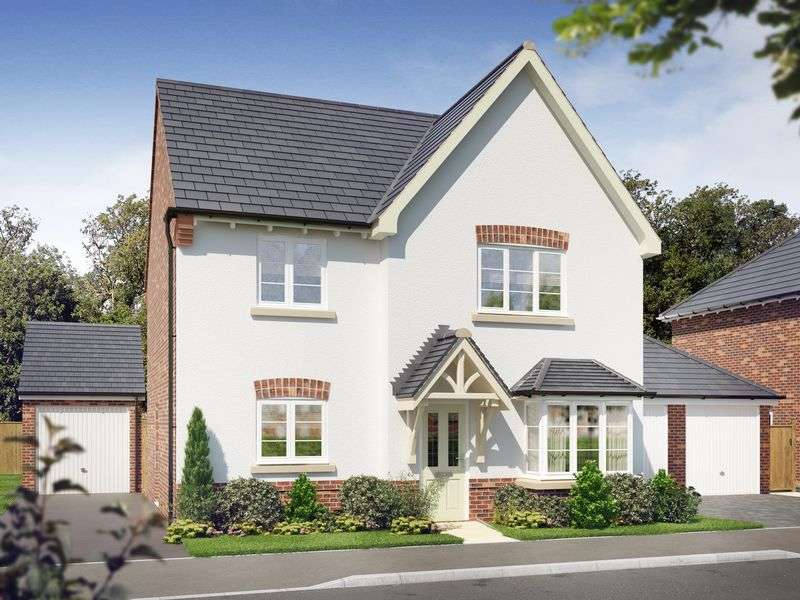 4 Bedrooms Detached House for sale in THE BIRCHOVER, OAKLANDS, ASHBOURNE