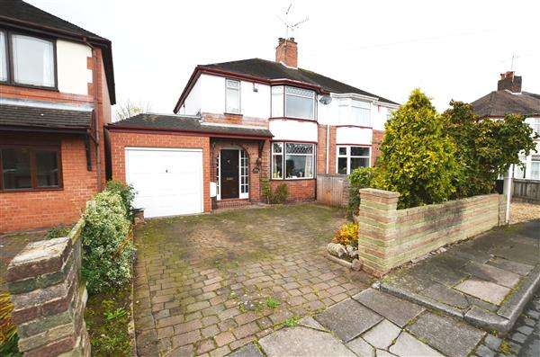 3 Bedrooms Semi Detached House for sale in Ronson Avenue, Trent Vale, Stoke-On-Trent