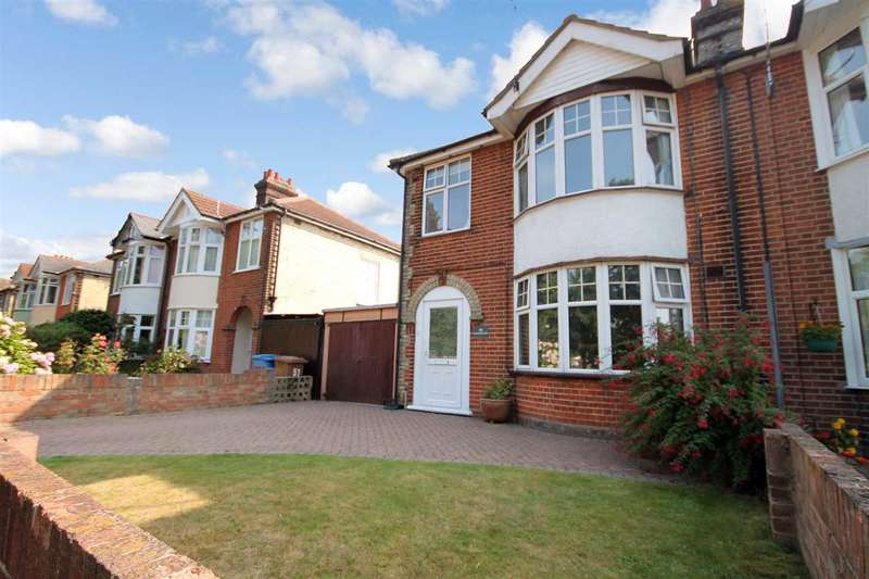 3 Bedrooms Semi Detached House for sale in King Edward Road, Ipswich