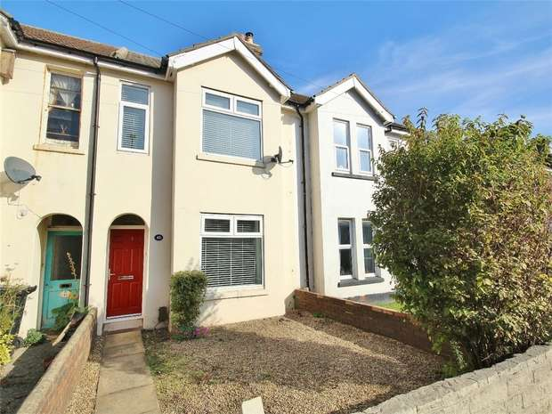 2 Bedrooms Terraced House for sale in Blandford Road, Hamworthy, POOLE, Dorset
