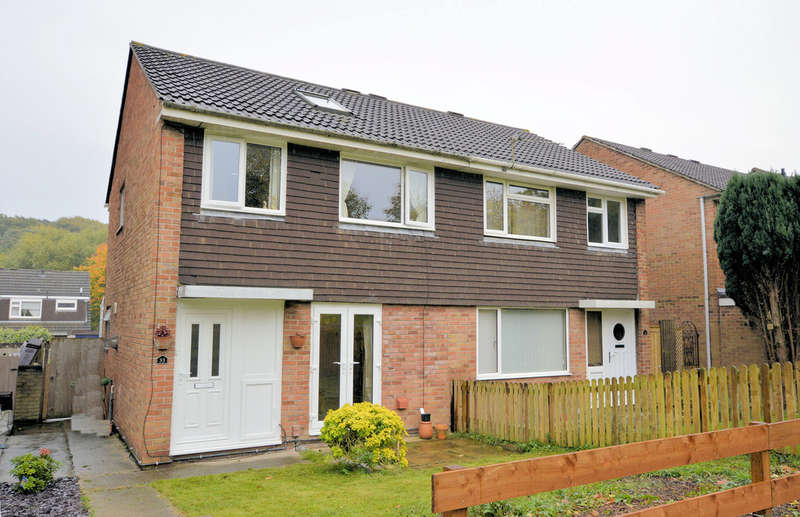 3 Bedrooms Semi Detached House for sale in Elm Close, Little Stoke, Bristol BS34 6RQ