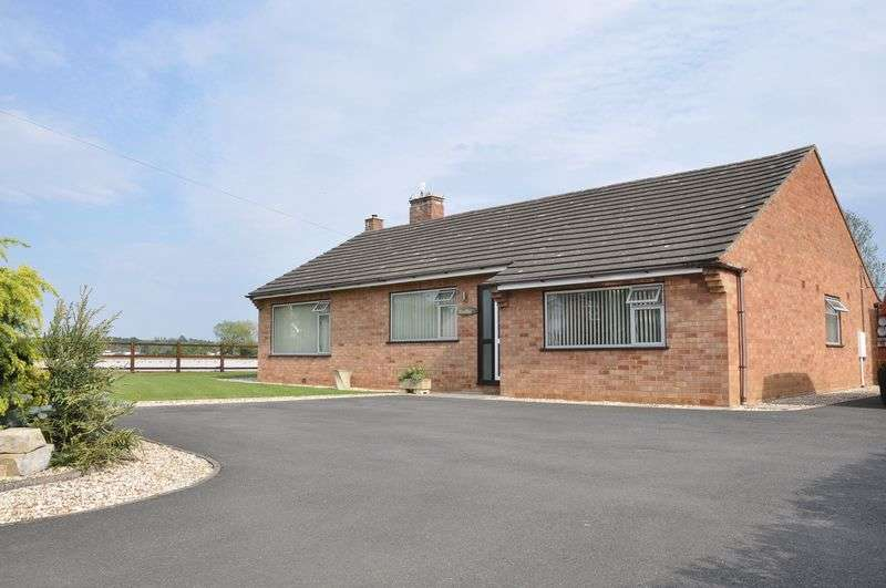 3 Bedrooms Detached Bungalow for sale in Three Cocks Lane, Offenham, Evesham, WR11 8RY
