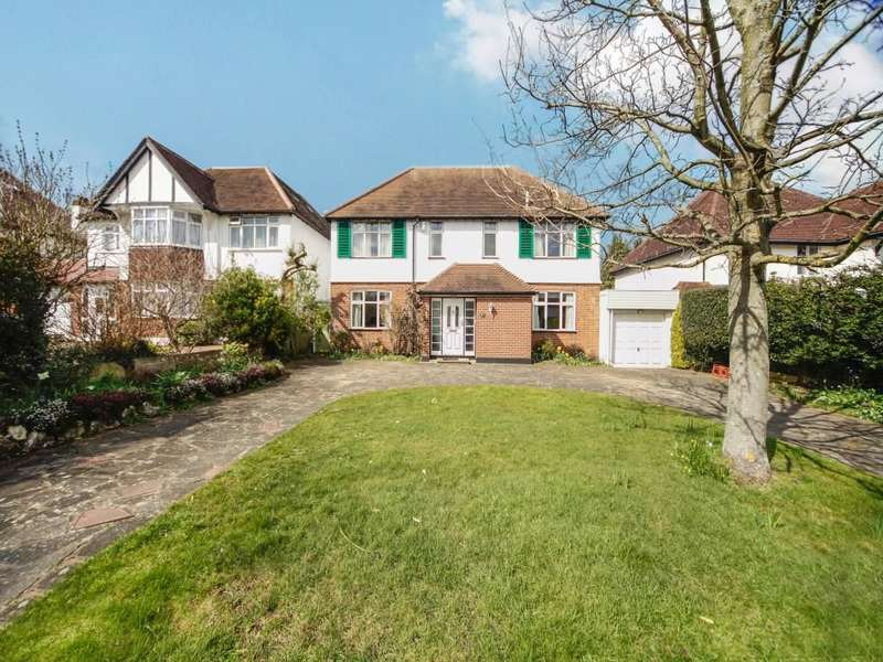 4 Bedrooms Detached House for sale in Southway, Carshalton, SM5