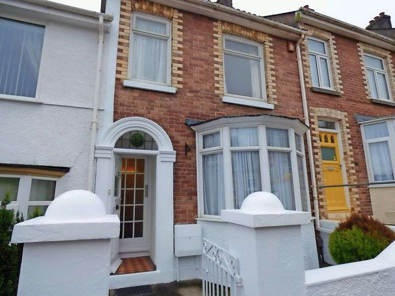 2 Bedrooms Terraced House for sale in Clinton Avenue, Lipson, Plymouth