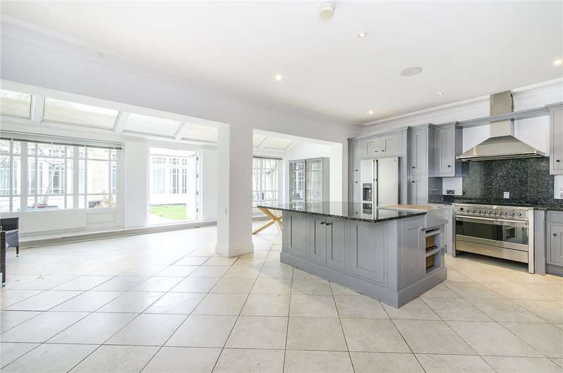 6 Bedrooms Terraced House for sale in Imperial Crescent, Imperial Wharf, London, SW6