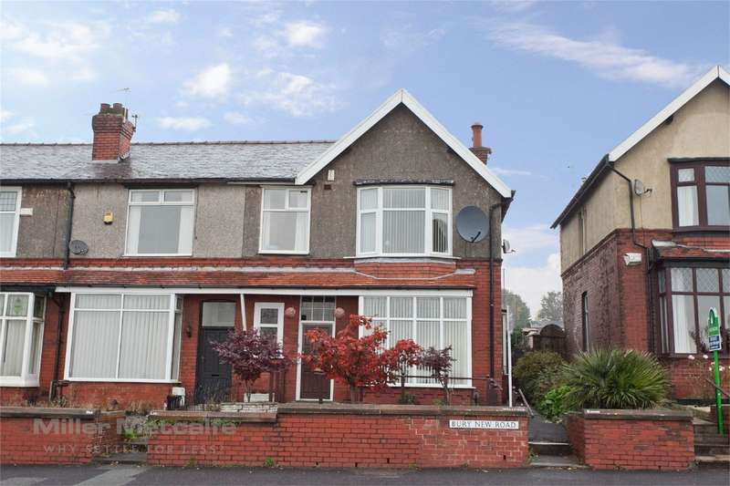 3 Bedrooms End Of Terrace House for sale in Bury New Road, Breightmet, Bolton, Lancashire