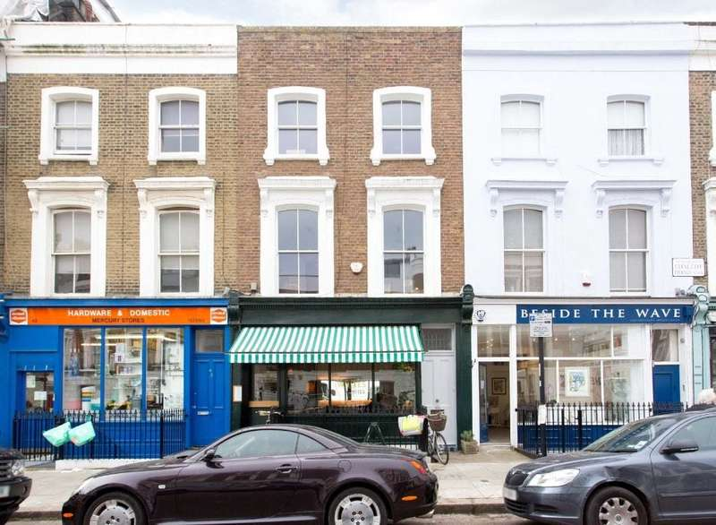 3 Bedrooms Maisonette Flat for sale in Chalcot Road, London, NW1