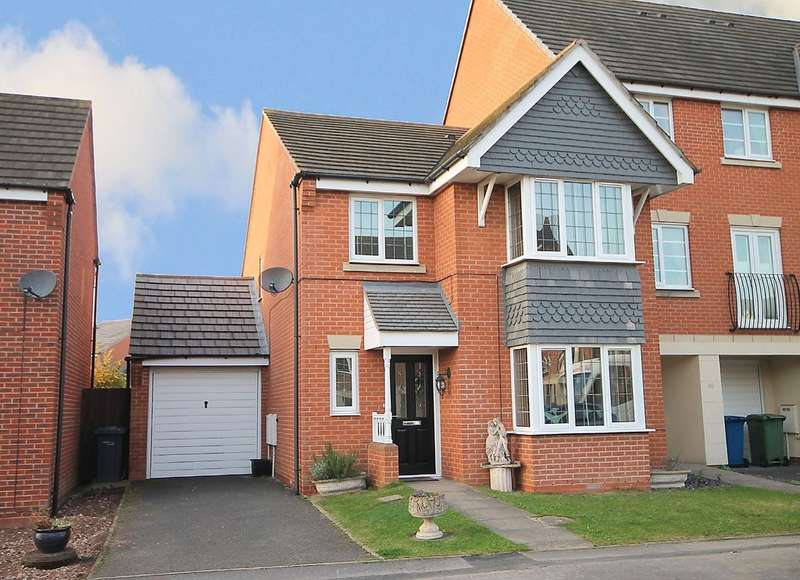 4 Bedrooms Semi Detached House for sale in Basin Lane, Glascote, Tamworth, B77 2AH