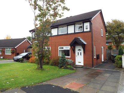 3 Bedrooms Semi Detached House for sale in Weavers Green, Farnworth, Bolton, Greater Manchester, BL4
