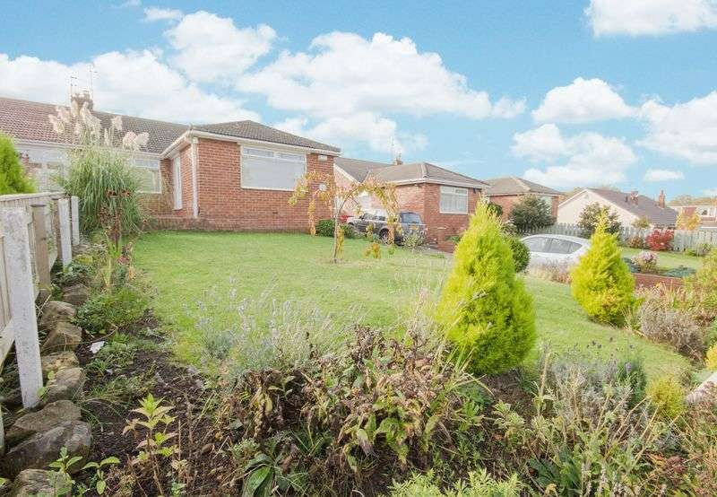 3 Bedrooms Semi Detached Bungalow for sale in Church Lane, Eston, Middlesbrough, TS6 9DT