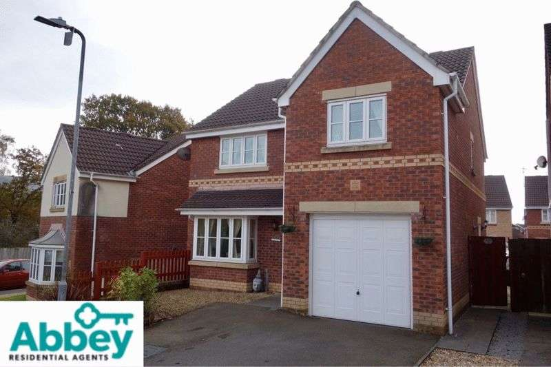 4 Bedrooms Detached House for sale in Ffynnon Dawel, Aberdulias, Neath, SA10 8EN