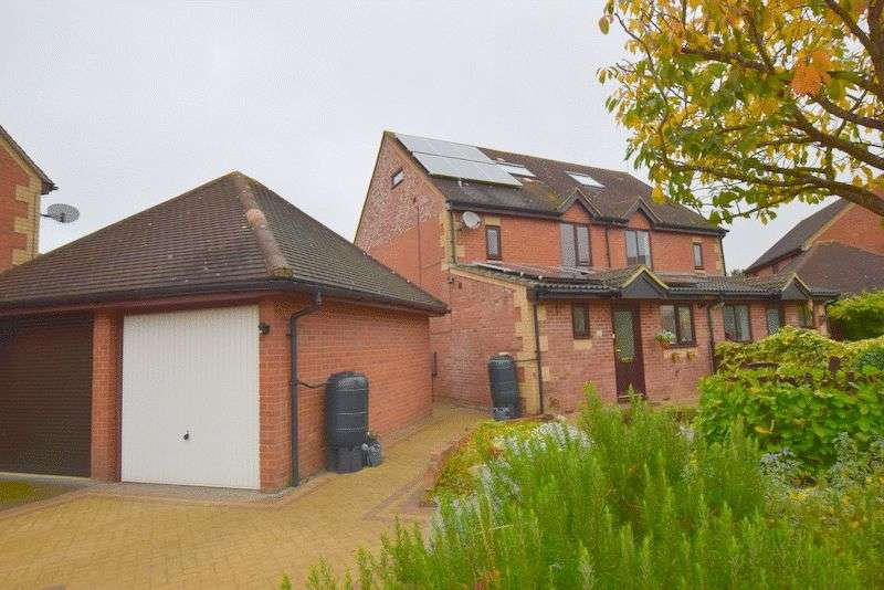 4 Bedrooms Semi Detached House for sale in Wellfield Court, Willen, Milton Keynes