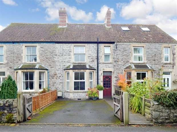 3 Bedrooms Terraced House for sale in Prospect Villas, Weymouth Road, Evercreech