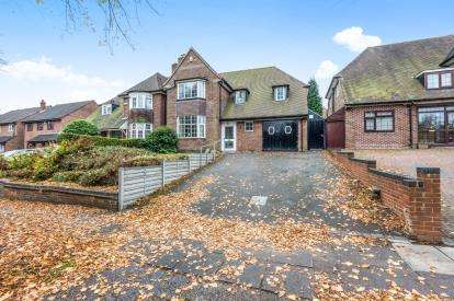 4 Bedrooms Detached House for sale in Vernon Avenue, Handsworth Wood, Birmingham, West Midlands