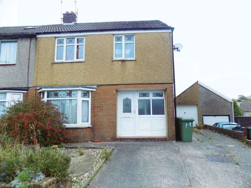 3 Bedrooms Semi Detached House for sale in Meadow Crescent, Caerphilly