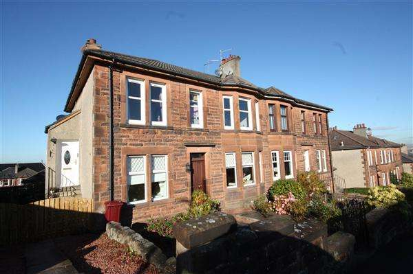 2 Bedrooms Flat for sale in Snaefell Avenue, Burnside, Glasgow