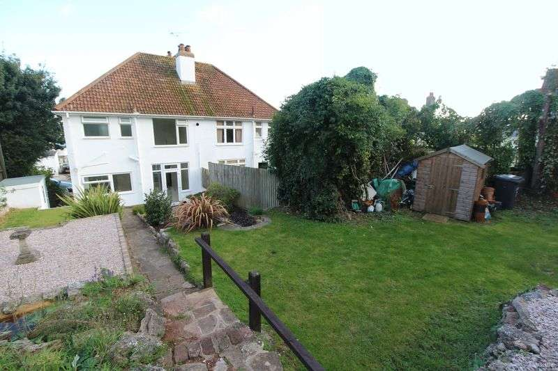 3 Bedrooms Semi Detached House for sale in David Road, Paignton