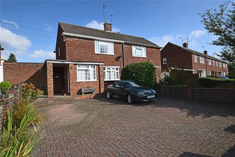 2 Bedrooms Semi Detached House for sale in The Meadway, Tilehurst, Reading, Berkshire, RG30