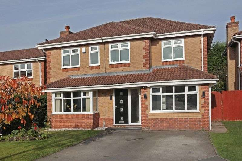 4 Bedrooms Detached House for sale in Cherry Tree Close, Timperley