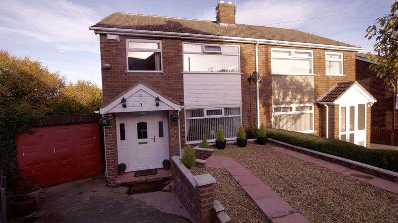 3 Bedrooms Semi Detached House for sale in Prospect Drive, Coedpoeth, Wrexham