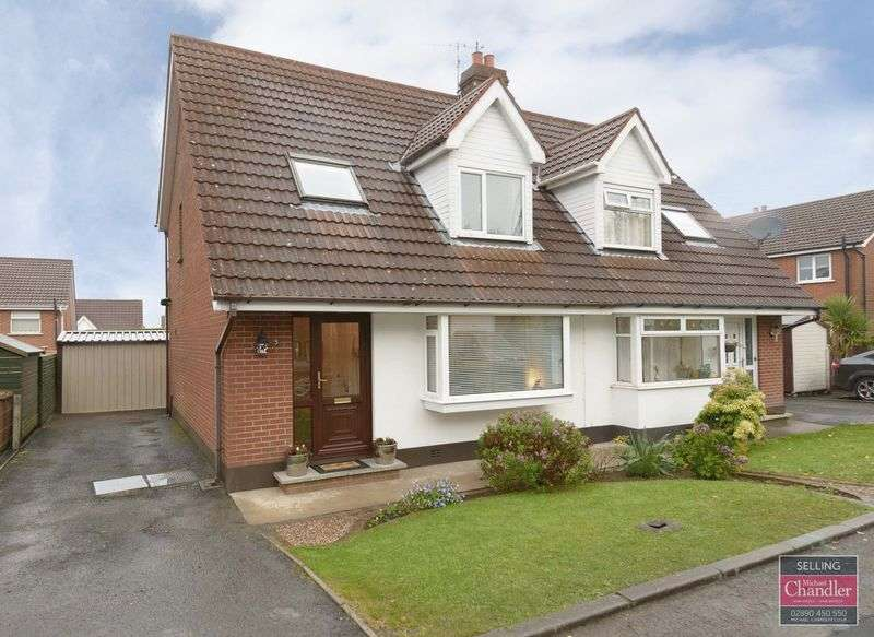 3 Bedrooms Semi Detached House for sale in 3 Upper Malvern Crescent, Belfast, BT8 6TW