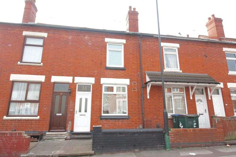 2 Bedrooms Terraced House for sale in St. Lawrences Road, Foleshill, Coventry