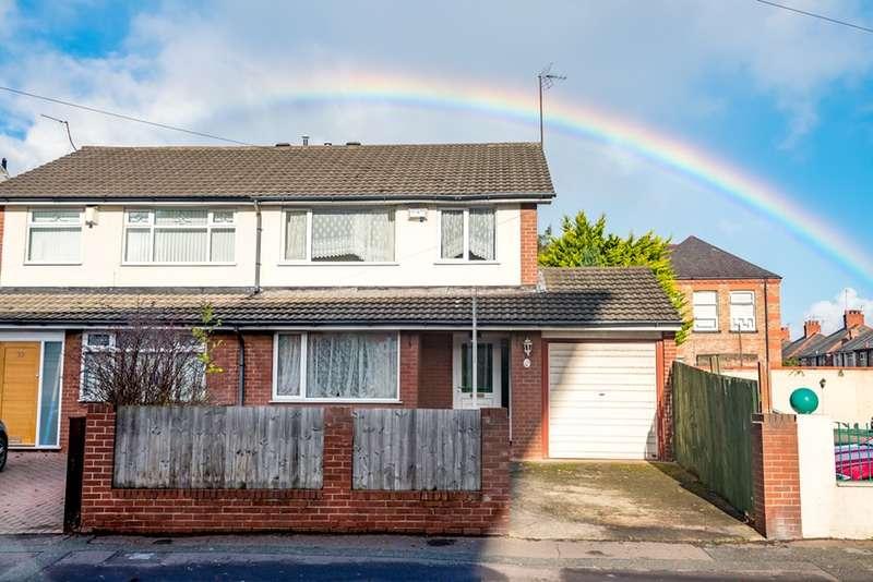 3 Bedrooms Semi Detached House for sale in Prenton Road West, Birkenhead, Merseyside, CH42