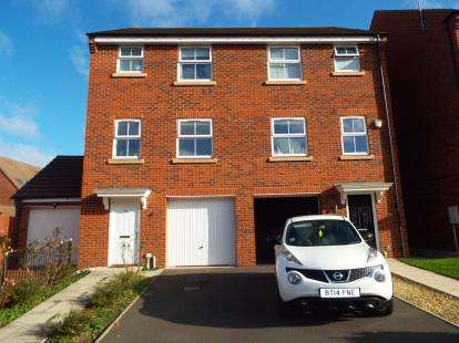 4 Bedrooms Semi Detached House for sale in Lupin Drive, Huntington, Cannock, Staffordshire