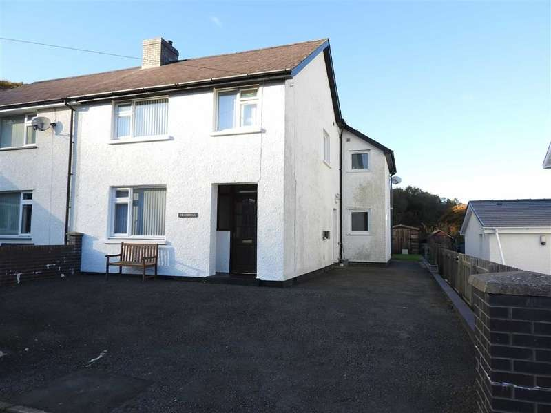 4 Bedrooms Semi Detached House for sale in Llandre, Bow Street