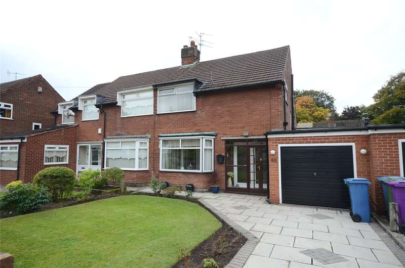 3 Bedrooms Semi Detached House for sale in Camphill Road, Woolton, Liverpool, L25