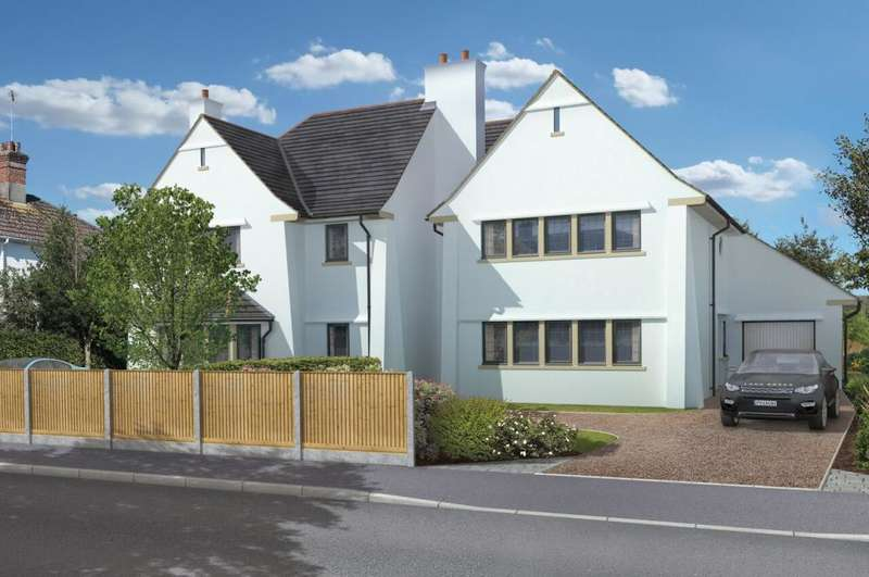 4 Bedrooms Link Detached House for sale in Hightown Road, Ringwood, BH24 1NL
