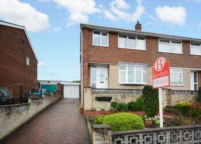 3 Bedrooms Semi Detached House for sale in Backfield Rise, Chapeltown, Sheffield, South Yorkshire