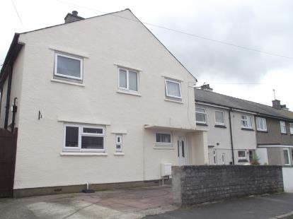 3 Bedrooms End Of Terrace House for sale in Y Wern, Y Felinheli, Gwynedd, LL56