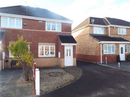 2 Bedrooms Semi Detached House for sale in Leo Close, Liverpool, Merseyside, England, L14