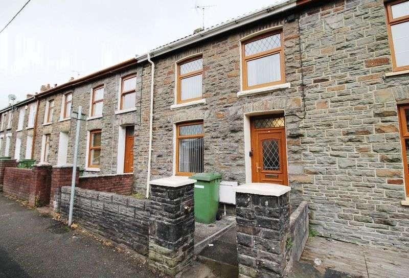 3 Bedrooms Terraced House for sale in Llantrisant Road, TONYREFAIL CF39 8PP