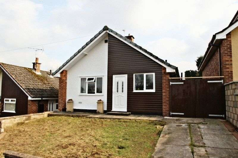 2 Bedrooms Detached Bungalow for sale in Swan Close, Talke
