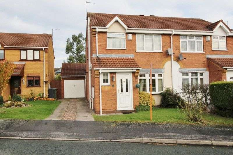 3 Bedrooms Semi Detached House for sale in Avon Drive, Kingfisher Estate, Willenhall