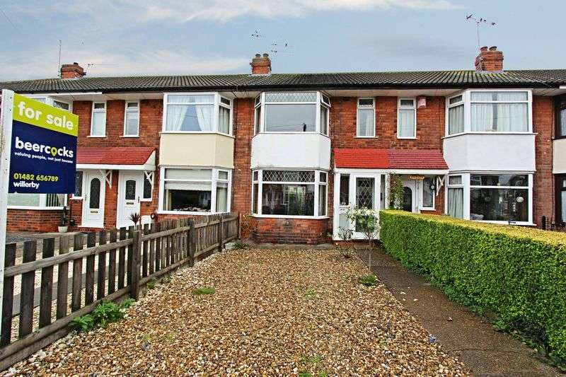 3 Bedrooms Terraced House for sale in Ridgeway Road, Hull