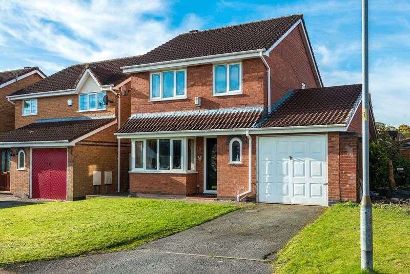4 Bedrooms Detached House for sale in Cherwell Close, Aspull