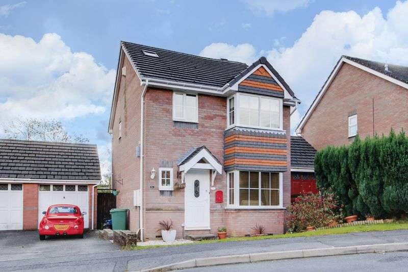 4 Bedrooms Detached House for sale in Hawkes Ridge, Cwmbran