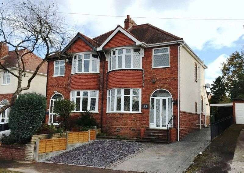 3 Bedrooms Semi Detached House for sale in Links Road, Wolverhampton