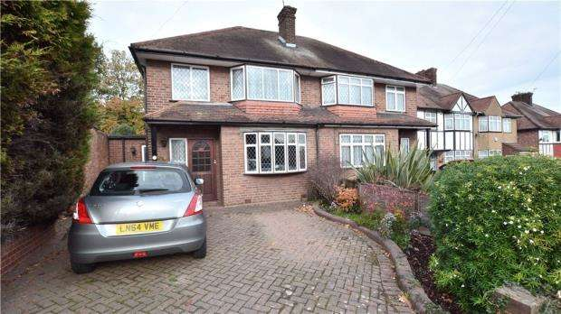 3 Bedrooms Semi Detached House for sale in Honeycroft Hill, Uxbridge, Middlesex
