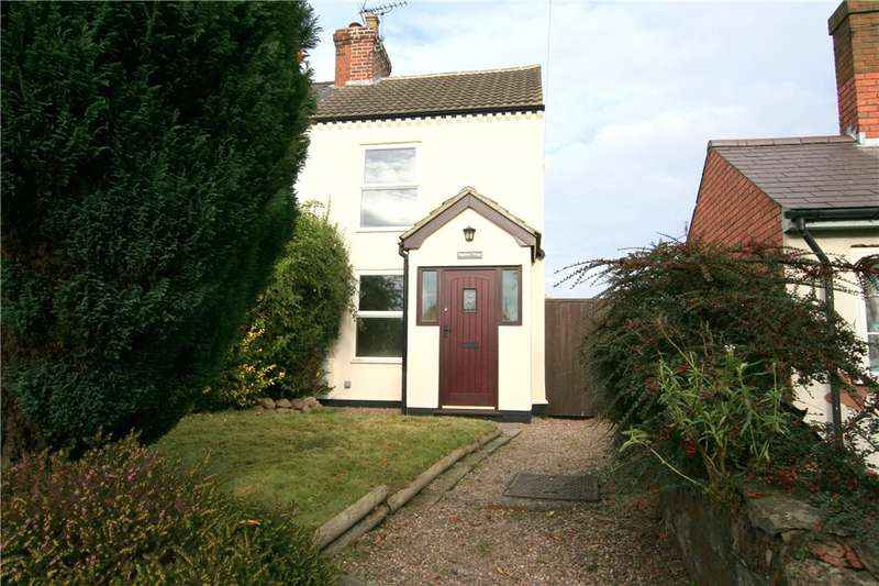 2 Bedrooms Semi Detached House for sale in Main Street, Horsley Woodhouse, Derbyshire, DE7