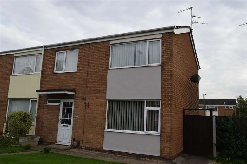 3 Bedrooms Semi Detached House for sale in Wolfit Avenue, Balderton, Newark