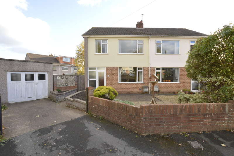 3 Bedrooms Semi Detached House for sale in Hillside Close, Frampton Cotterell, Bristol BS36 2RG