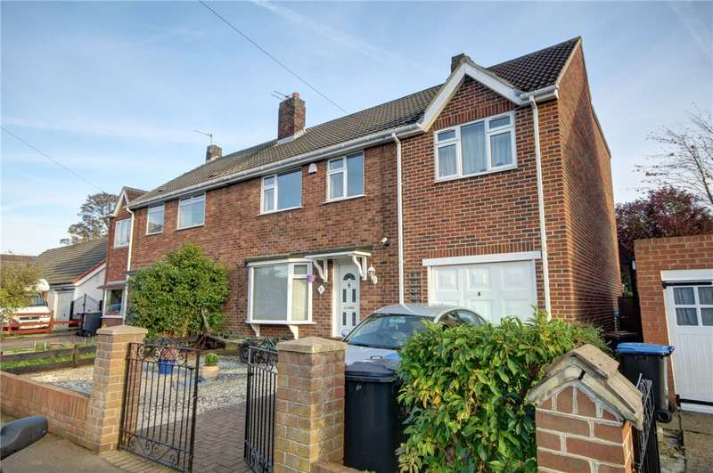 4 Bedrooms Semi Detached House for sale in Westcott Drive, Durham Moor, Durham, DH1