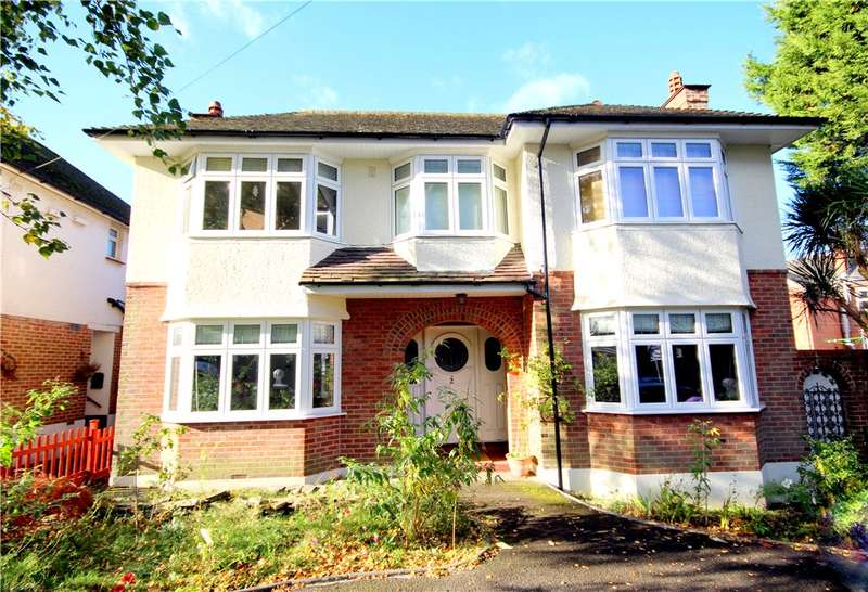 4 Bedrooms Detached House for sale in Canford Cliffs Road, Lower Parkstone, Poole, BH13