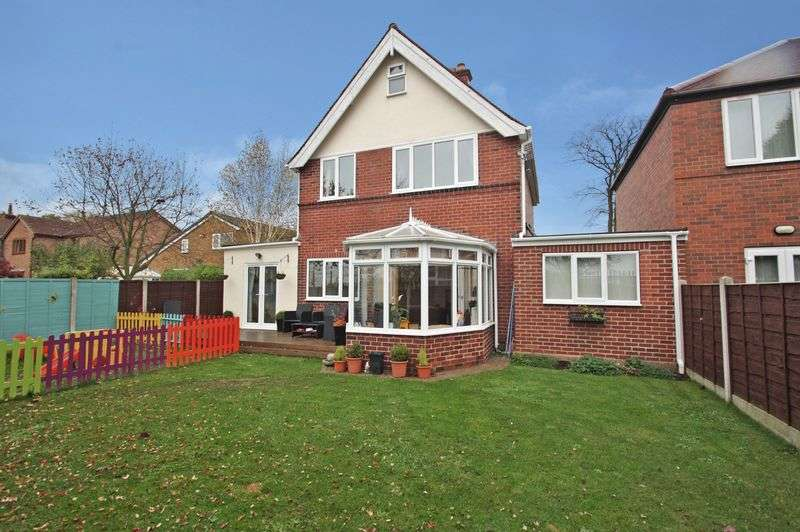 3 Bedrooms Detached House for sale in Houndhill Lane, Purston Jaglin