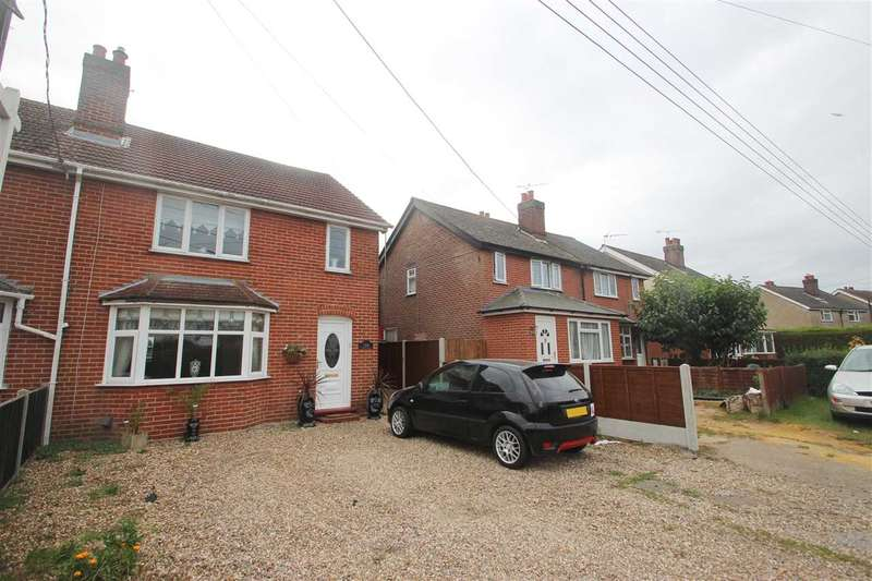 4 Bedrooms Semi Detached House for sale in Long Road, Lawford, Manningtree