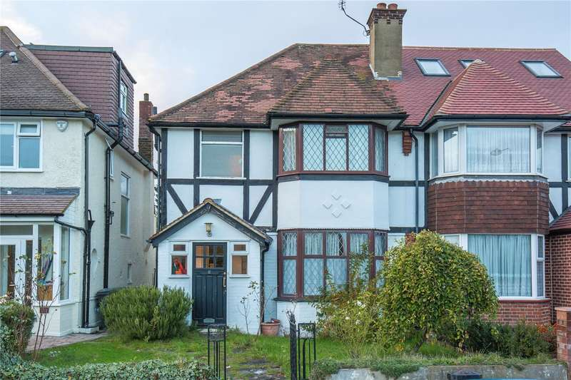3 Bedrooms Semi Detached House for sale in Tangle Tree Close, Finchley, London, N3